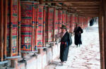 Xiahe prayer wheels